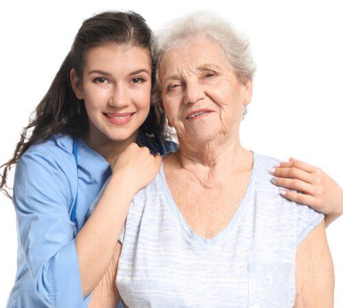 Anziana e giovane